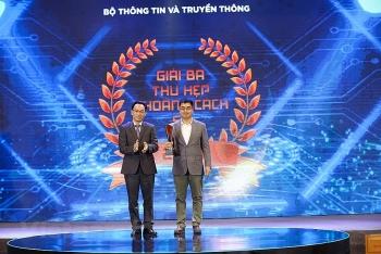 Nền tảng Hocmai.vn giành giải Ba ở hạng mục Thu hẹp khoảng cách số
