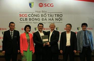 Tập đoàn SCG công bố tài trợ cho CLB bóng đá Hà Nội