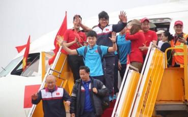 VietJet bị xử phạt sau sự cố trên chuyến bay chở U23 Việt Nam