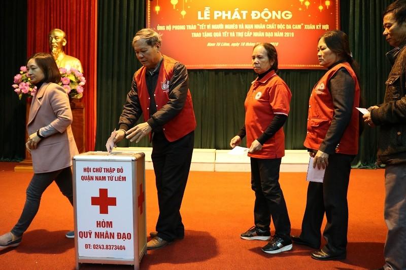 Phát động phong trào ủng hộ Tết vì người nghèo Xuân Kỷ Hợi