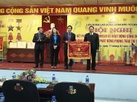Vinh dự nhận Cờ thi đua của UBND TP Hà Nội