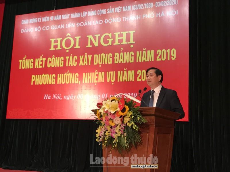lien doan lao dong thanh pho ha noi tong ket cong tac dang nam 2019