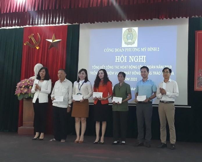 LĐLĐ quận Nam Từ Liêm phát động thi đua điểm năm 2020 tại CĐCS phường Mỹ Đình 2