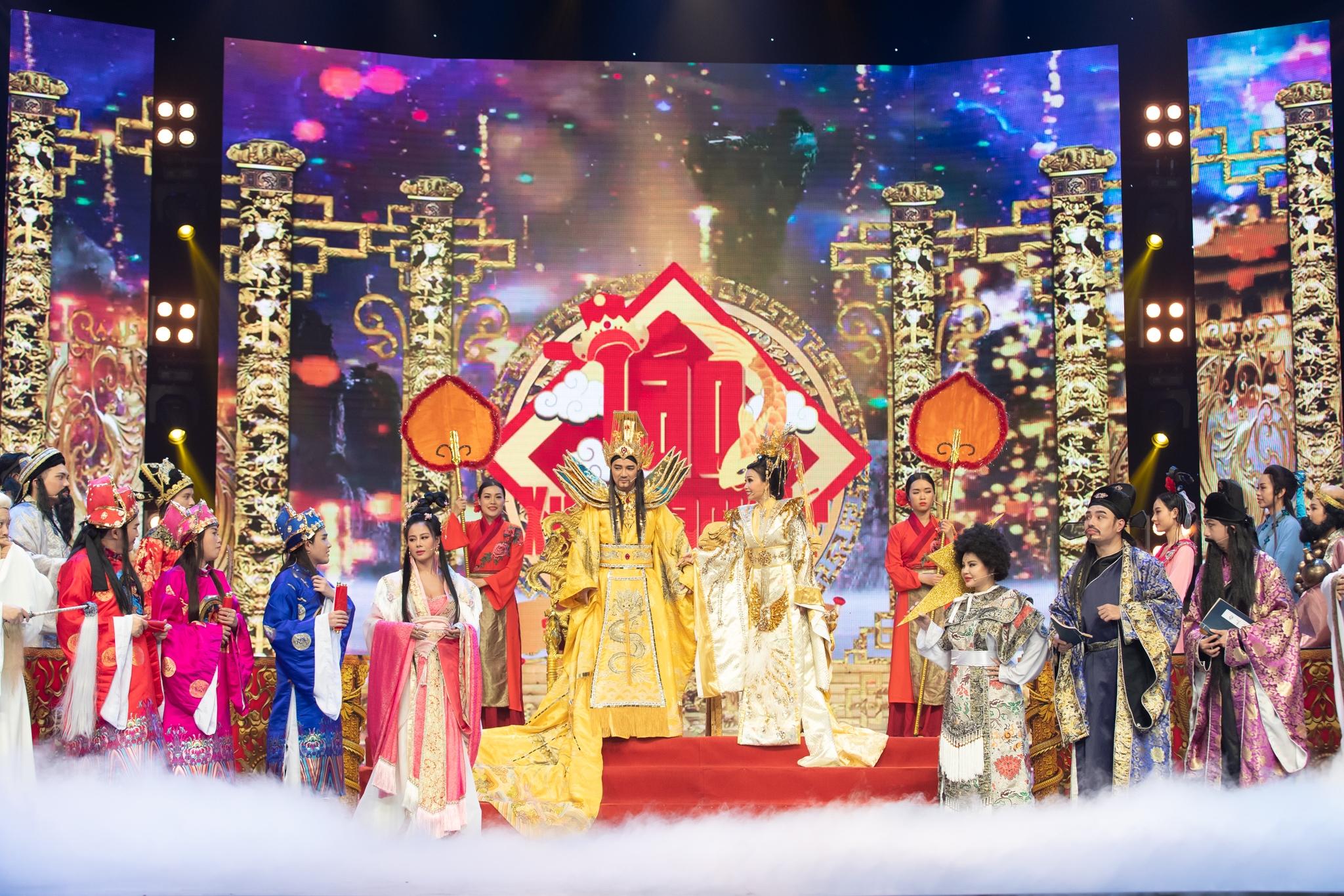 Đàm Vĩnh Hưng, Cẩm Ly và nhiều sao hạng A cùng hội ngộ Táo Xuân Tân Sửu 2021