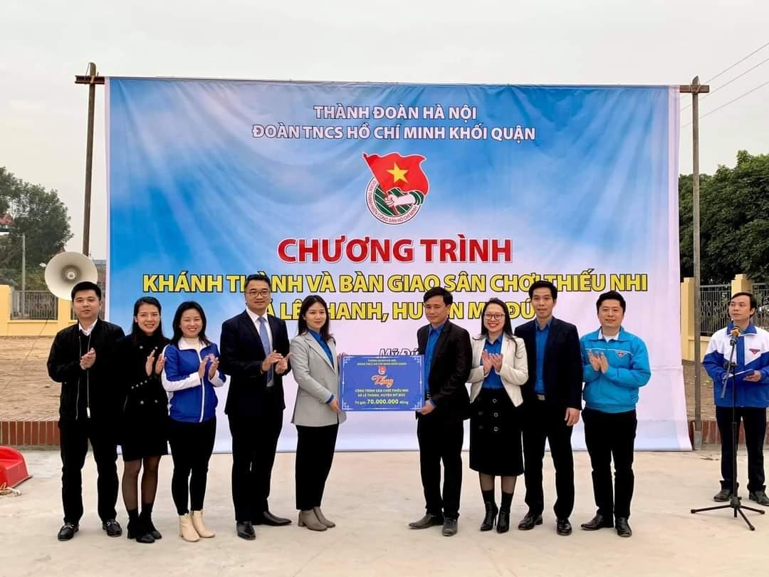 Hoạt động thiết thực của tuổi trẻ quận Nam Từ Liêm hướng về Đại hội XIII của Đảng