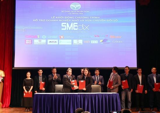 Khởi động Chương trình hỗ trợ doanh nghiệp nhỏ và vừa chuyển đổi số SMEdx