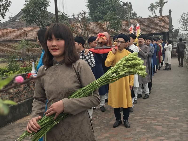 Tìm về Tết xưa tại ngôi đình cổ 400 tuổi ở Hà Nội