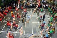 Hàng trăm kỳ thủ so tài tại lễ hội cờ tướng Chùa Vua