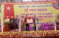 Lễ hội làng Triều Khúc được công nhận là Di sản văn hoá phi vật thể Quốc gia