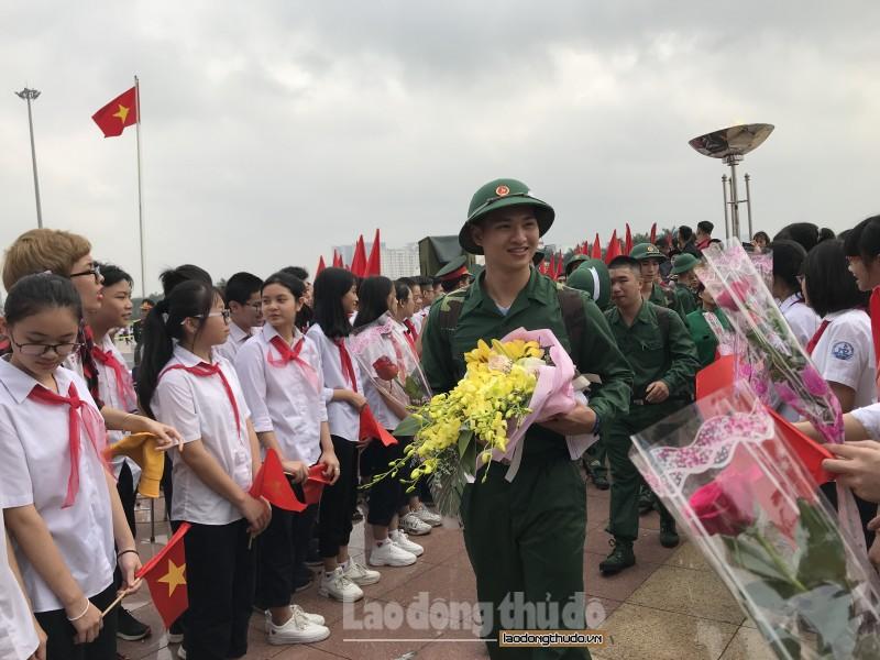 Thanh niên quận Nam Từ Liêm xung kích tham gia nghĩa vụ quân sự bảo vệ Tổ quốc