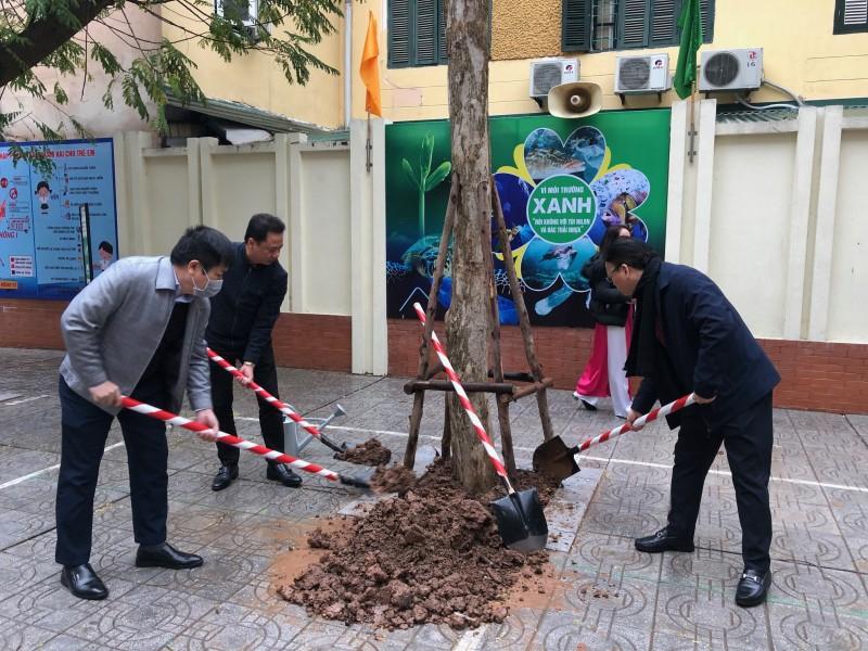 Quận Hai Bà Trưng phát độngTết trồng cây