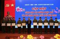 Quận Nam Từ Liêm: 31 công dân tình nguyện đăng ký nhập ngũ năm 2020
