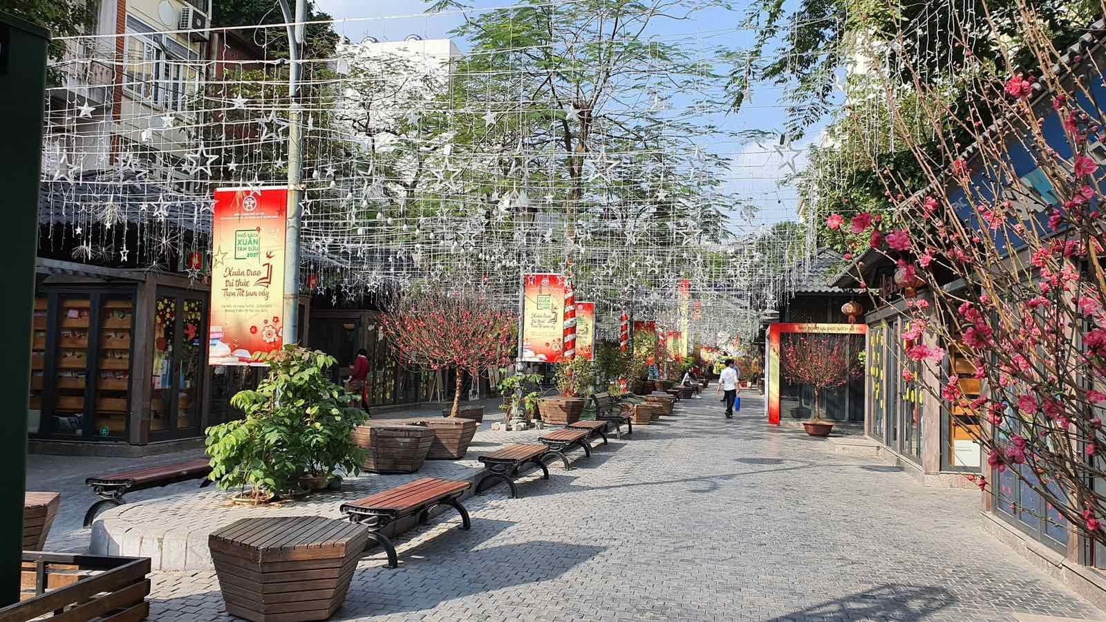 Phố Sách Xuân Tân Sửu 2021 mở cửa từ sáng ngày mùng 3 Tết