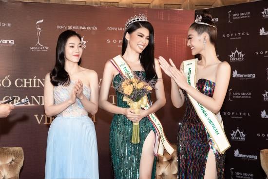 Kiều Loan kỳ vọng Á hậu Ngọc Thảo chinh phục vương miện Hoa hậu Hoà bình Quốc tế 2020