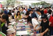 20 tấn sách cũ được bày bán tại Hội sách Xuân 2018
