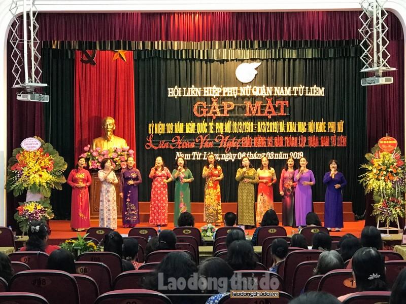 Sôi nổi Ngày hội phụ nữ quận Nam Từ Liêm