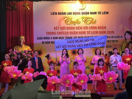 LĐLĐ quận Nam Từ Liêm: Sôi nổi cuộc thi