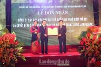 Nghề cốm Mễ Trì được công nhận là Di sản văn hoá phi vật thể quốc gia