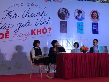 Trở thành tác giả Việt dễ hay khó?