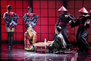 Hòa âm ánh sáng: Yến Trang hóaGeisha trong đêm chung kết 1