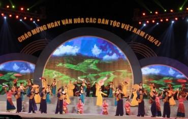 Nhiều hoạt động nhân 10 năm 'Ngày văn hoá các dân tộc Việt Nam'