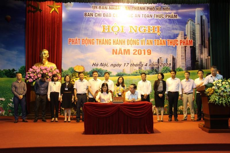 Hà Nội: Phát động Tháng hành động vì an toàn thực phẩm năm 2019