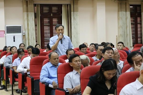 Tiếp xúc cử tri quận Nam Từ Liêm trước kỳ họp thứ 7 Quốc hội khóa XIV
