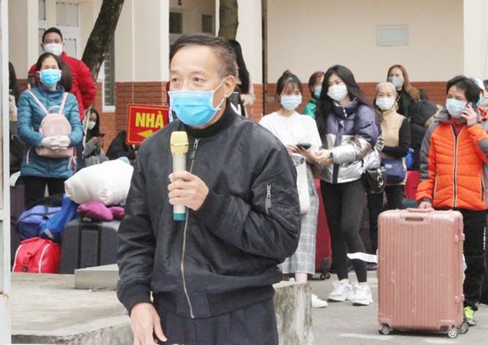 Gần 700 công dân cách ly tập trung tại trường Cao đẳng nghề Công nghệ cao Hà Nội được trở về nhà