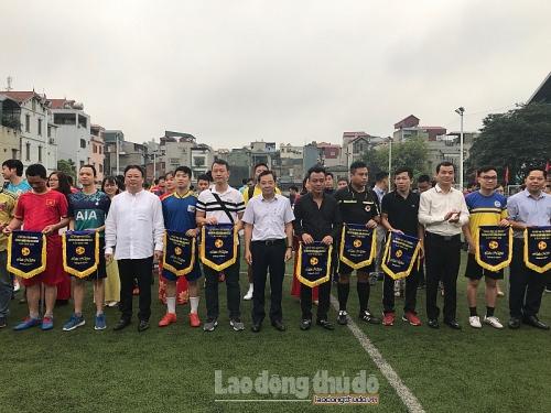 Khai mạc Giải bóng đá truyền thống CNVCLĐ và LLVT lần thứ 19