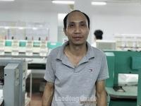 Công nhân Nguyễn Huy Hải: Người tổ trưởng tận tuỵ, gương mẫu