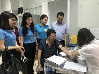 Tổ chức thăm khám sức khoẻ miễn phí cho gần 1.500 đoàn viên công đoàn