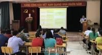 Tập huấn về công tác An toàn vệ sinh lao động cho trên 100 cán bộ CĐCS