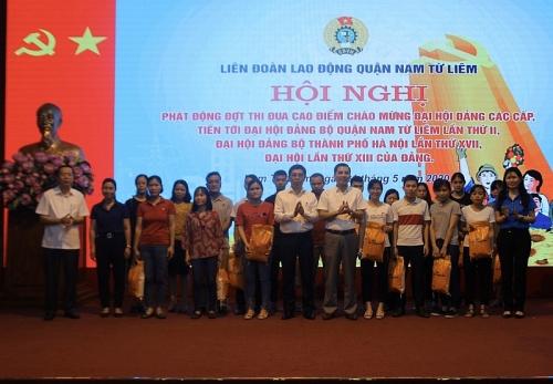Liên đoàn Lao động Nam Từ Liêm phát động đợt thi đua cao điểm chào mừng Đại hội Đảng các cấp