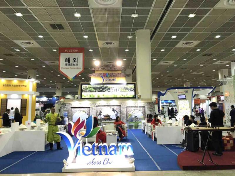 Việt Nam tham gia Hội chợ du lịch quốc tế tại Hàn Quốc