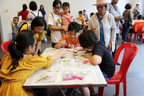 Trẻ em Thủ đô hào hứng khám phá văn hoá Hàn Quốc nhân ngày Tết Thiếu nhi