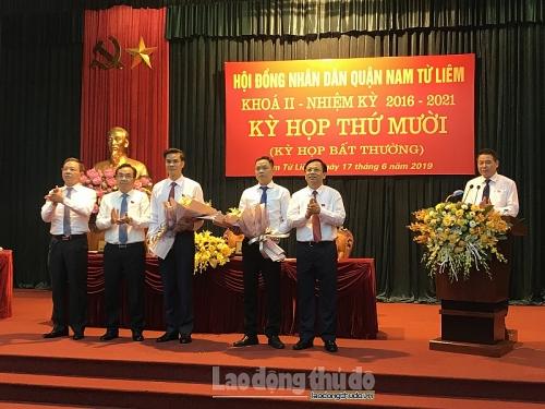 UBND quận Nam Từ Liêm có Phó Chủ tịch mới