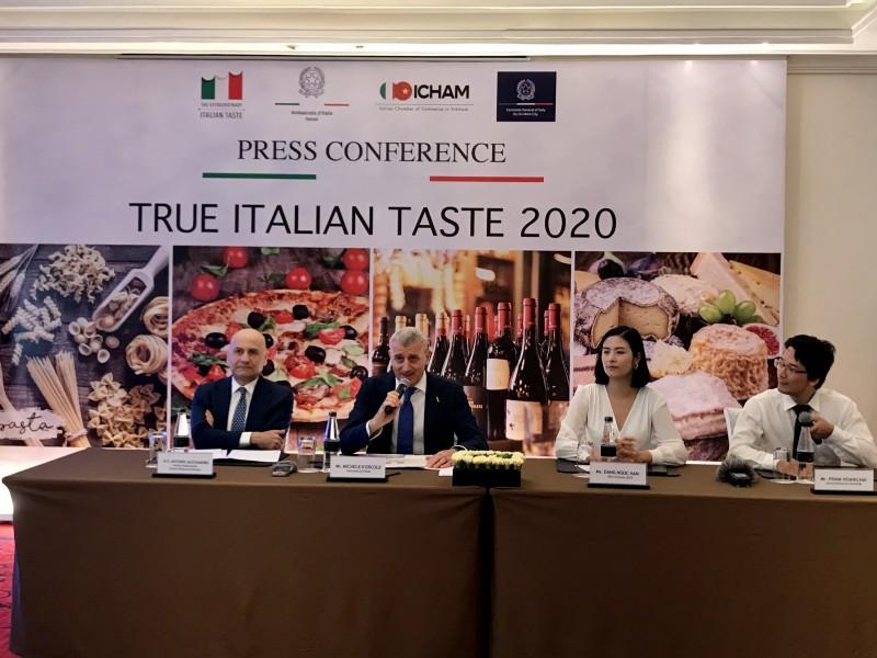 true italian taste 2020 hieu them ve am thuc nuoc y