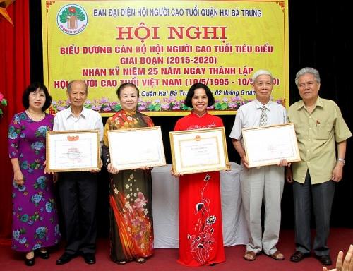 Hội Người cao tuổi quận Hai Bà Trưng: Phát huy vai trò