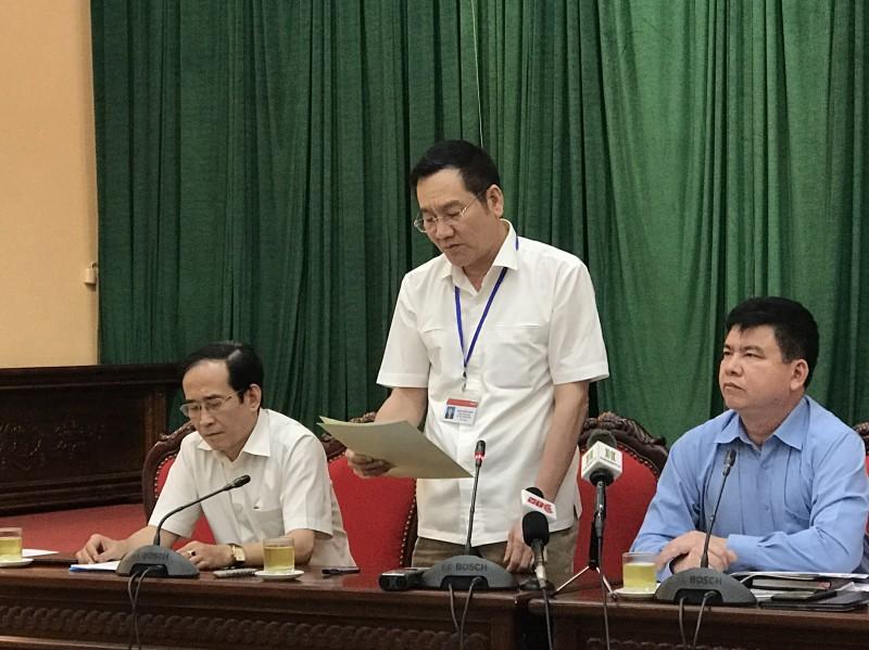 Yêu cầu Phó Chủ tịch UBND quận Thanh Xuân nghiêm túc kiểm điểm