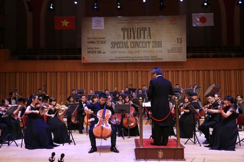 Hoà nhạc đặc biệt Toyota 2018 kỷ niệm 45 năm tình hữu nghị Việt Nam - Nhật Bản