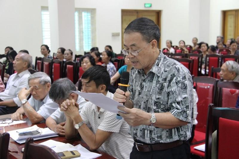 Quận Nam Từ Liêm: Cử tri kiến nghị sớm giải quyết bức xúc dân sinh