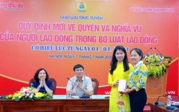 Liên đoàn Lao độngquận Nam Từ Liêm: Nâng cao nhận thức pháp luật cho người lao động