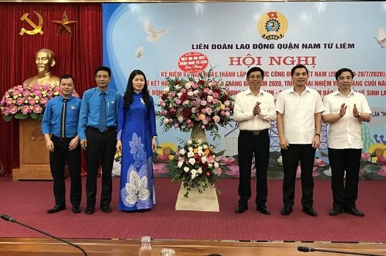 Liên đoàn Lao động Nam Từ Liêm kỷ niệm 91 năm Ngày Thành lập tổ chức Công đoàn Việt Nam