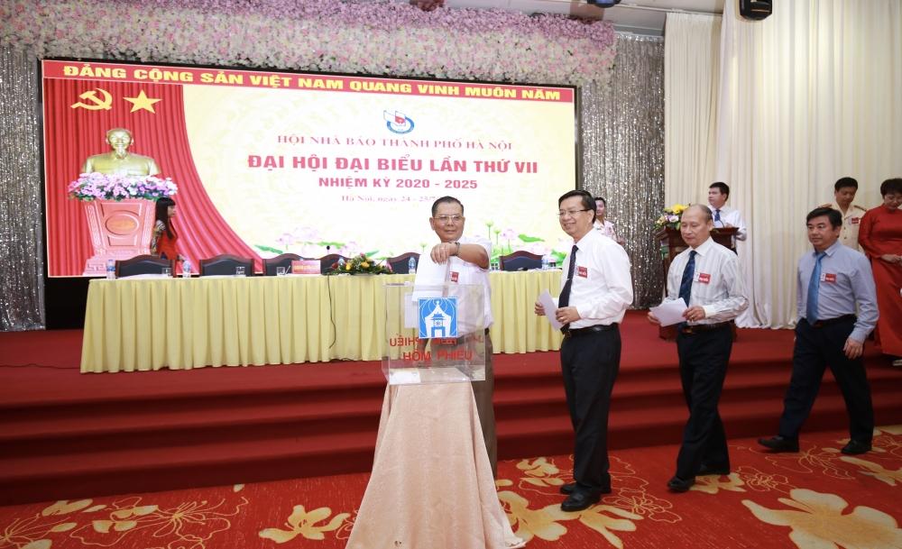 Khai mạc phiên nội bộ Đại hội Hội Nhà báo thành phố Hà Nội lần thứ VII, nhiệm kỳ 2020-2025