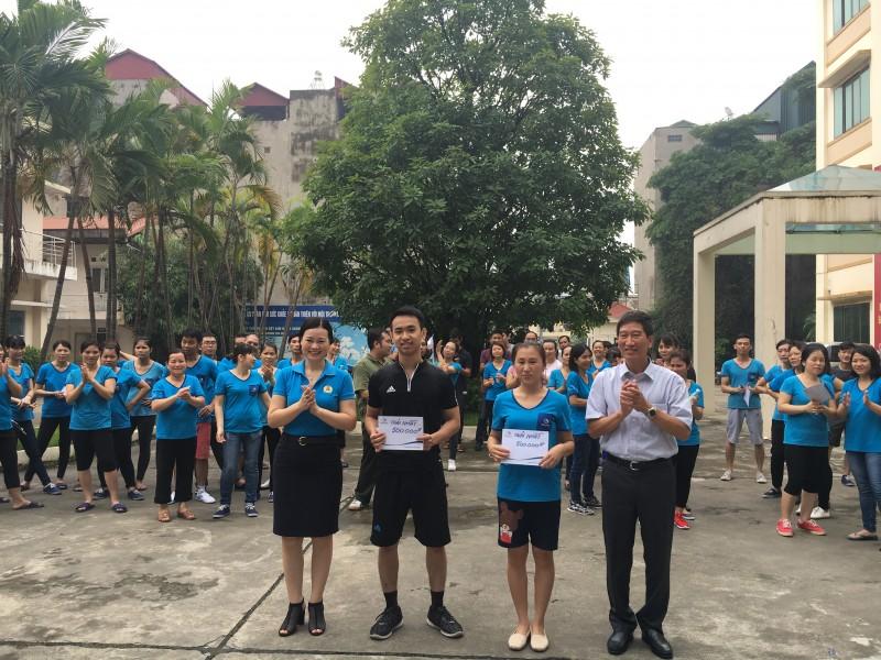 Công ty TNHH MTV Dệt kim Đông Xuân tổ chức chung kết Giải chạy báo Hànộimới