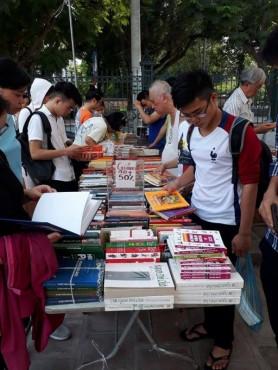 Sắp diễn ra Hội chợ sách cũ Hà Nội