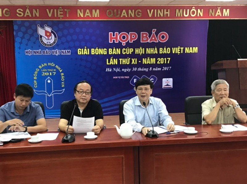 Sẽ có Hoa khôi giải bóng bàn cúp Hội Nhà báo Việt Nam lần thứ XI