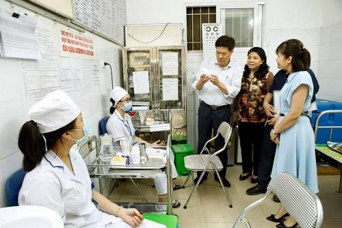 Quận Hai Bà Trưng nâng cao chất lượng trạm y tế phường