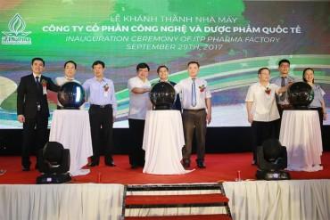 Công ty Cổ phần ITP PHARMA khánh thành nhà máy sản xuất mới