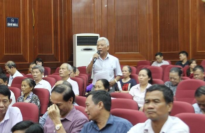 Đại biểu Quốc hội Thành phố tiếp xúc cử tri quận Nam Từ Liêm